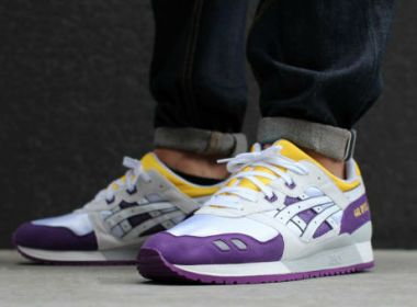 Asics Gel Lyte III Purple / Yellow /