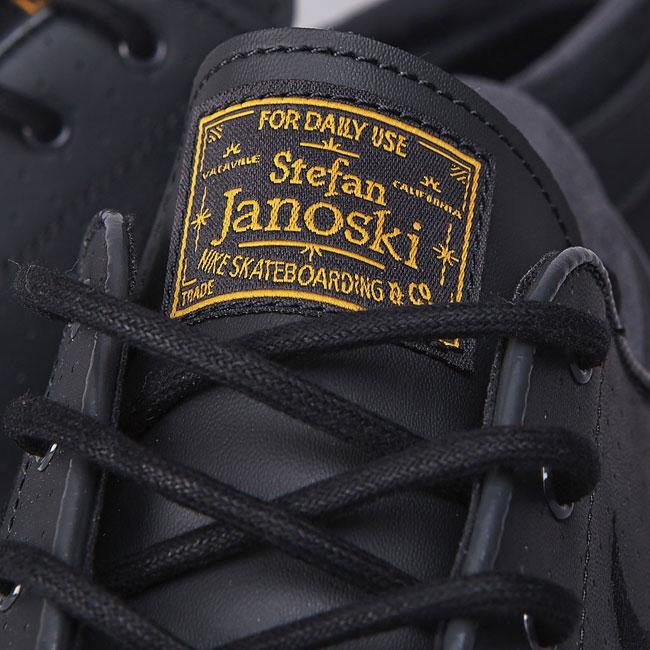 Nike SB Stefan Janoski Anthracite Black/University Gold