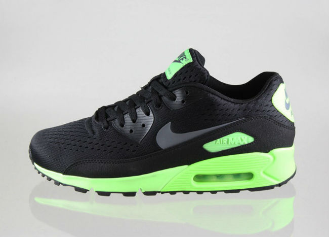 Nike Air Max 90 PRM Comfort EM Black/Flash Lime