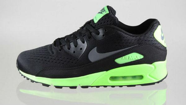Nike Air Max 90 PRM Comfort EM Black/Flash Lime