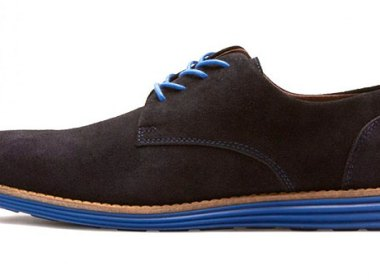 Selected Homme Navy Sprint Shoes
