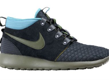 Nike Roshe Run Sneakerboot Dark Loden