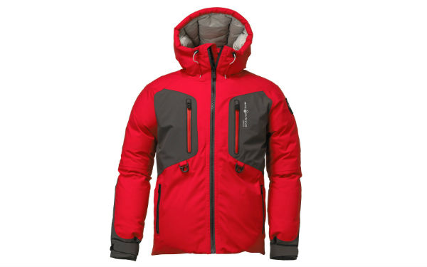 Sail Racing Pole Down Parka Red