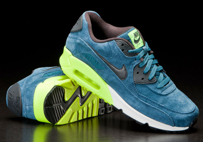 Nike Air Max 90 Premium Night Factor / Volt
