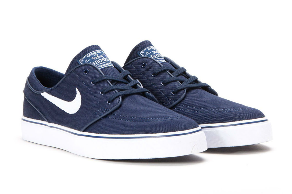 Nike SB Stefan Janoski Canvas Navy/White