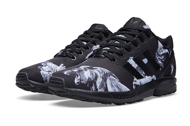 adidas Originals ZX Flux Core Black and Carbon | Cult Edge