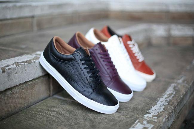 2dc68236c691 Vans Old Skool Premium Leather Pack