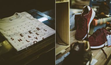 Sneakers Love Portugal photograph by Debora Ribeiro for Cult Edge.