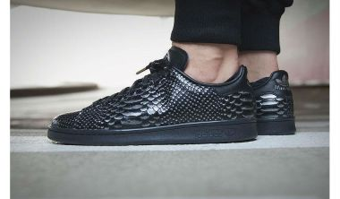 adidas Stan Smith 'Black Reptile'