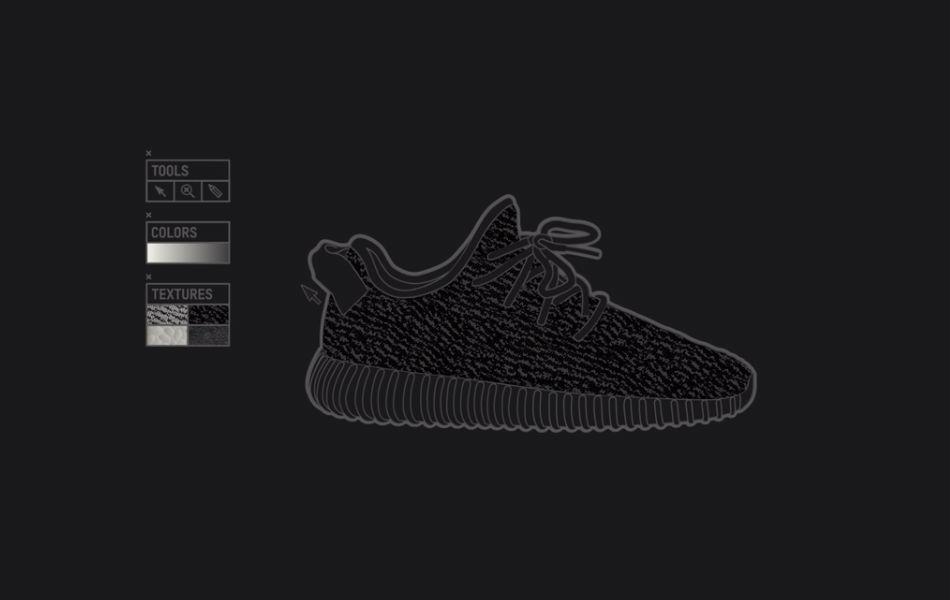 adidas Originals Yeezy Boost 350 Black video
