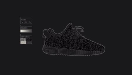 adidas Originals Yeezy Boost 350 Black Animation Video