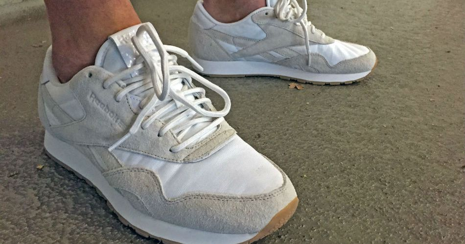 0171ec0e0ed Northern vibes with the Reebok x Maison Kitsuné CL Nylon  Arctic Fox ...