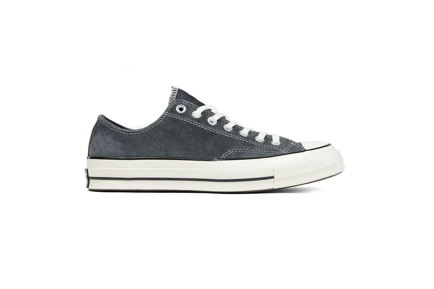 3d092d41e679 Converse Chuck Taylor All Star  70 Ox Suede Charcoal Black