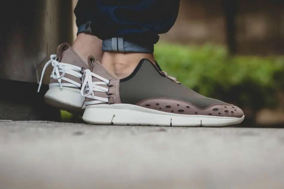 ekn footwear bamboo runner olive