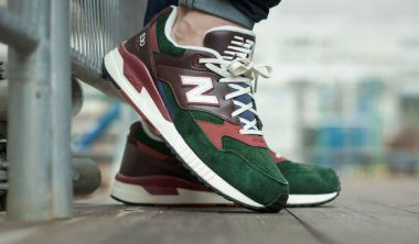 New Balance M530 D Green Suede