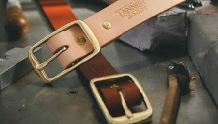 Tanner Goods delivers a new set of Premium Hand-Cast Buckles