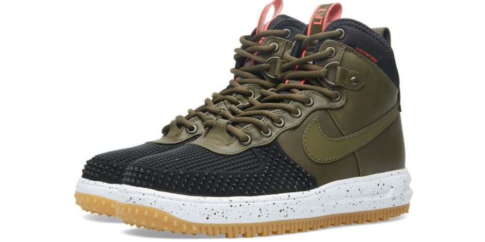 Nike Lunar Force 1 Duckboot Black Dark Loden