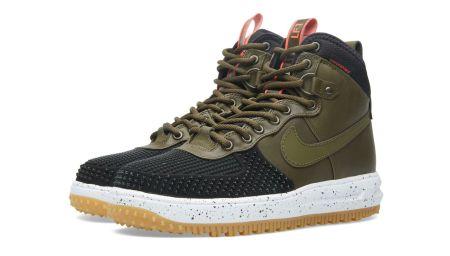Nike Lunar Force 1 Duckboot Black & Dark Loden