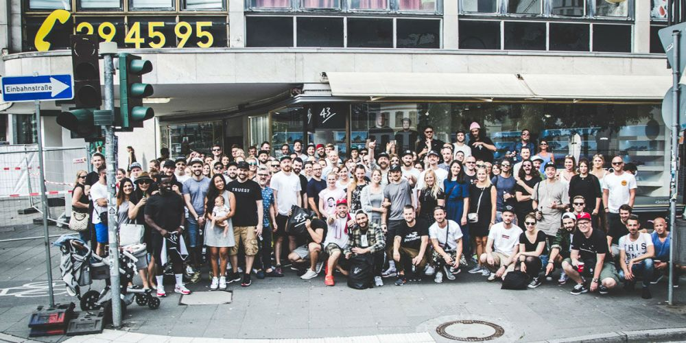 43einhalb Frankfurt Grand Opening