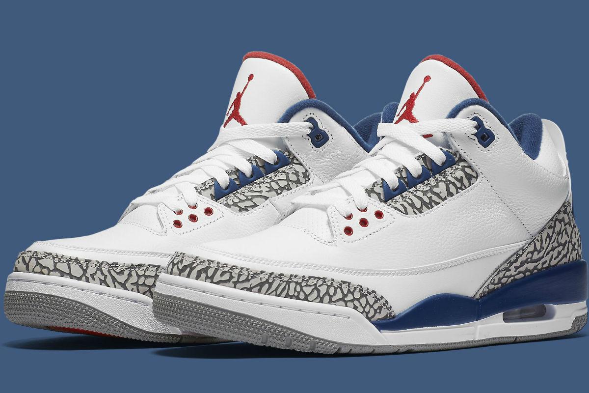 Air Jordan 3 True Blue