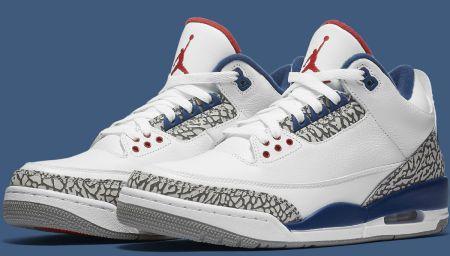 True Blue Air Jordan 3 Returns