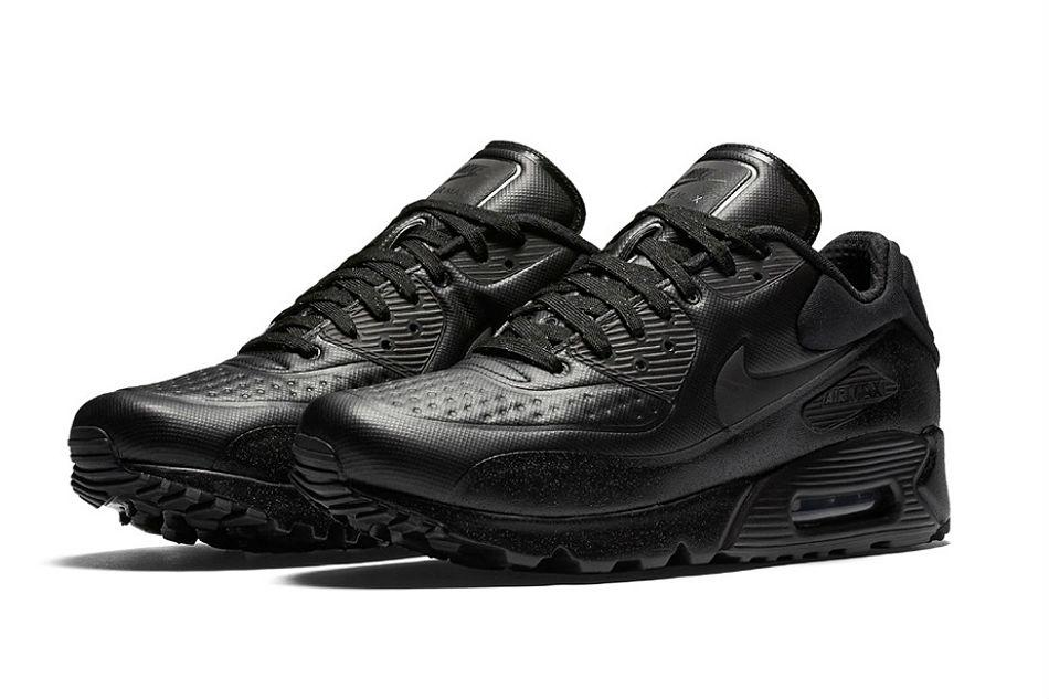 Nike Air Max 90 Premium SE Black | Cult Edge