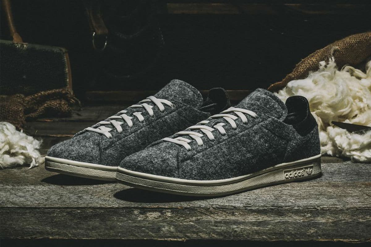 100% authentic 16a98 9516a adidas Stan Smith is Winterized for the Season