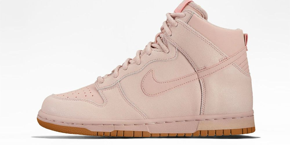 Nike Dunk High Premium Goes Pink Oxford