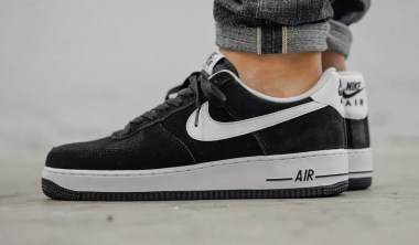 Nike Air Force 1 'Suede Black'