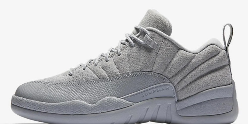 Air Jordan 12 Retro Low Wolf Grey