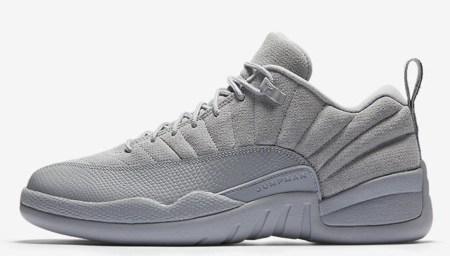 Deluxe: Air Jordan 12 Retro Low Wolf Grey