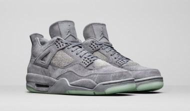 kaws x air jordan 4 official images