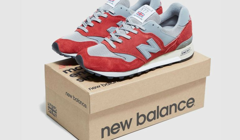 The New Balance 577 Suede Takes on a Red Look