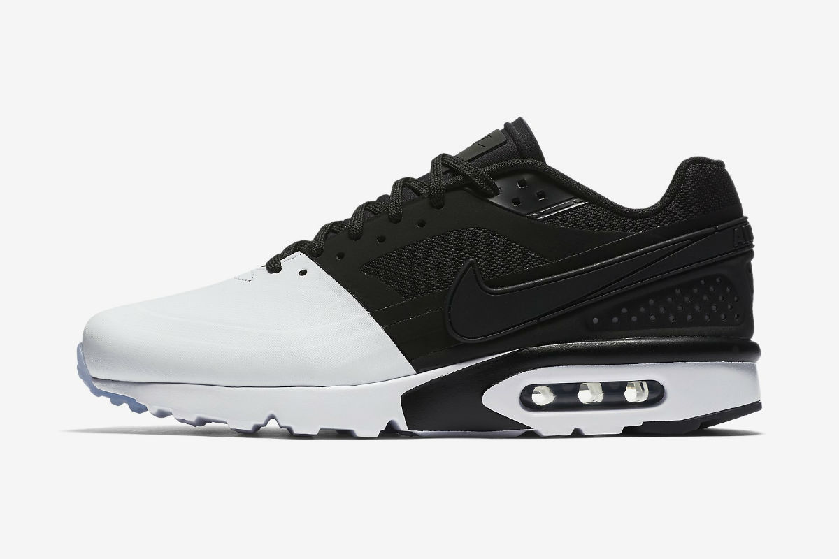 nike air max bw ultra se white black black