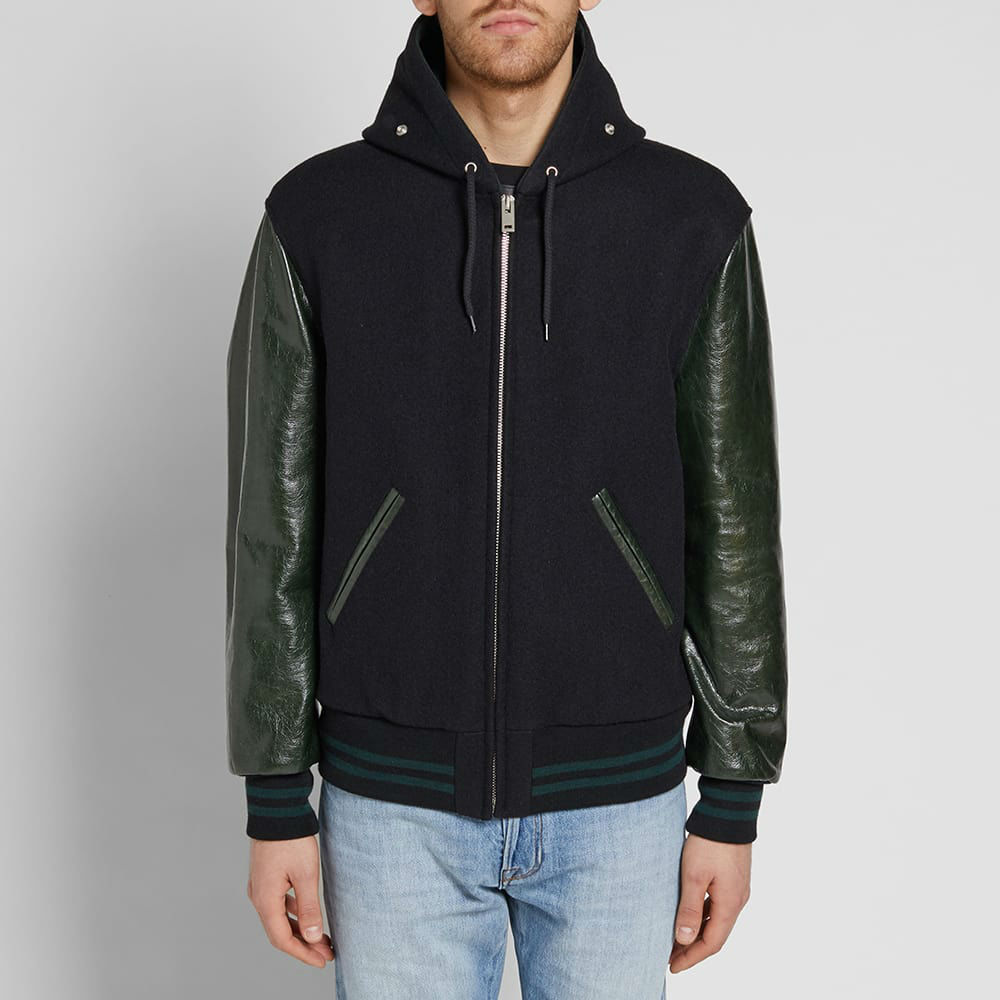 buy maison margiela teddy jacket