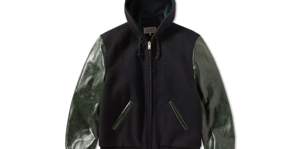 maison margiela teddy jacket