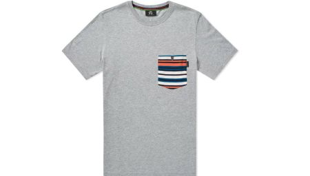Paul Smith Multi Stripe Pocket T-shirt