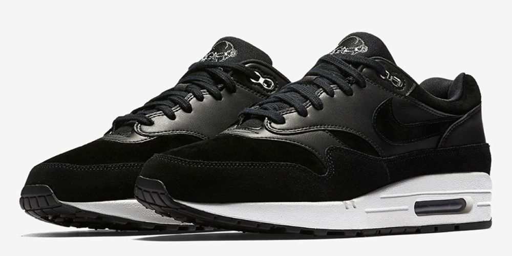 "Nike Air Max 1 PRM ""Black Skull"""