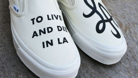"Vans Vault OG Classic Slip-On LX ""TO LIVE AND DIE IN LA"""