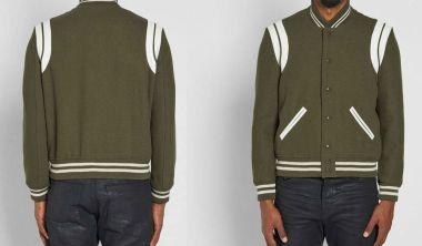 Saint Laurent Heavy Wool Teddy Jacket