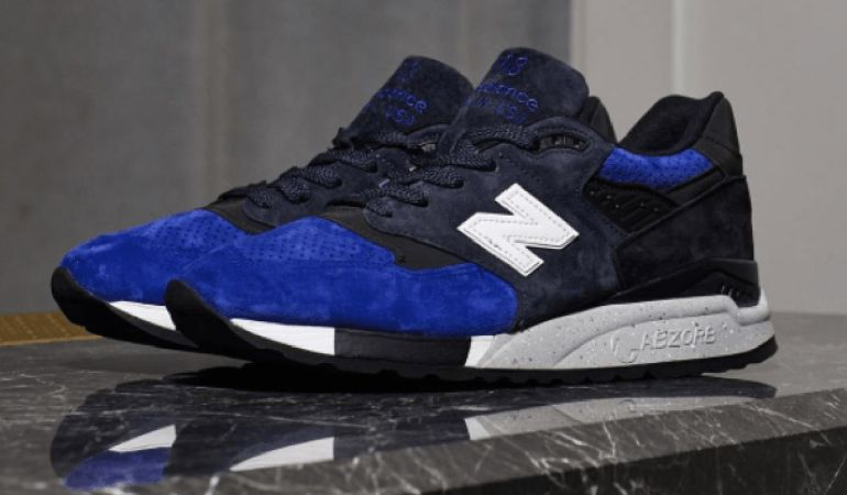 Todd Snyder's New Balance 998: The Midnight City