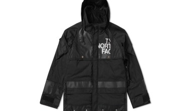 junya watanabe man x the north face nylon duffle jacket
