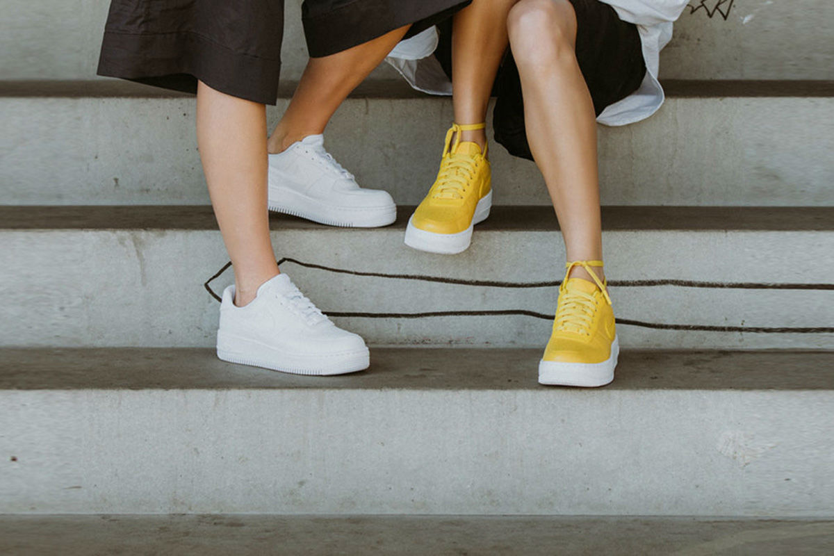 """Nike Air Force 1 Upstep Premium Low """"Bread & Butter""""   Cult Edge"""