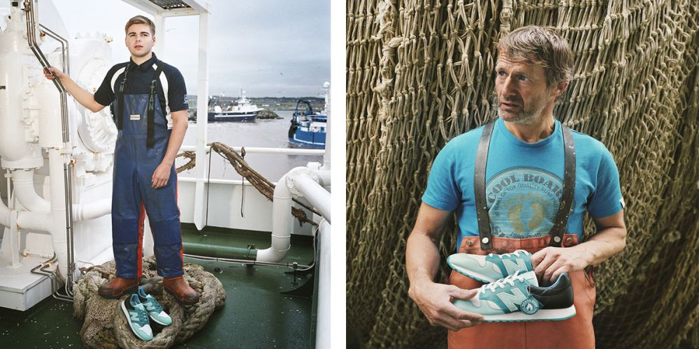 Hanon x New Balance U520HNF 'Fishermans Blues'