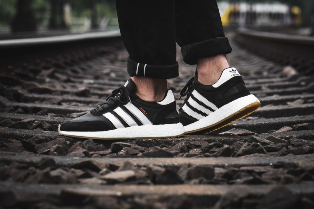 adidas iniki runner boost black white by9727
