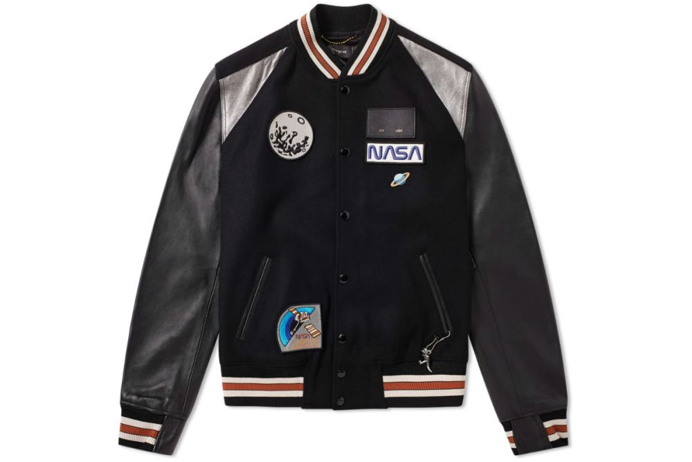Coach Animated Icon Varsity Jacket
