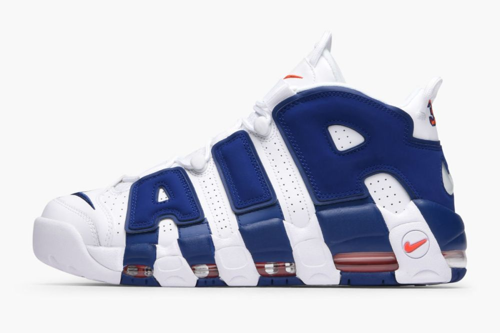 nike air more uptempo 96 white deep royal blue team orange 921948-101