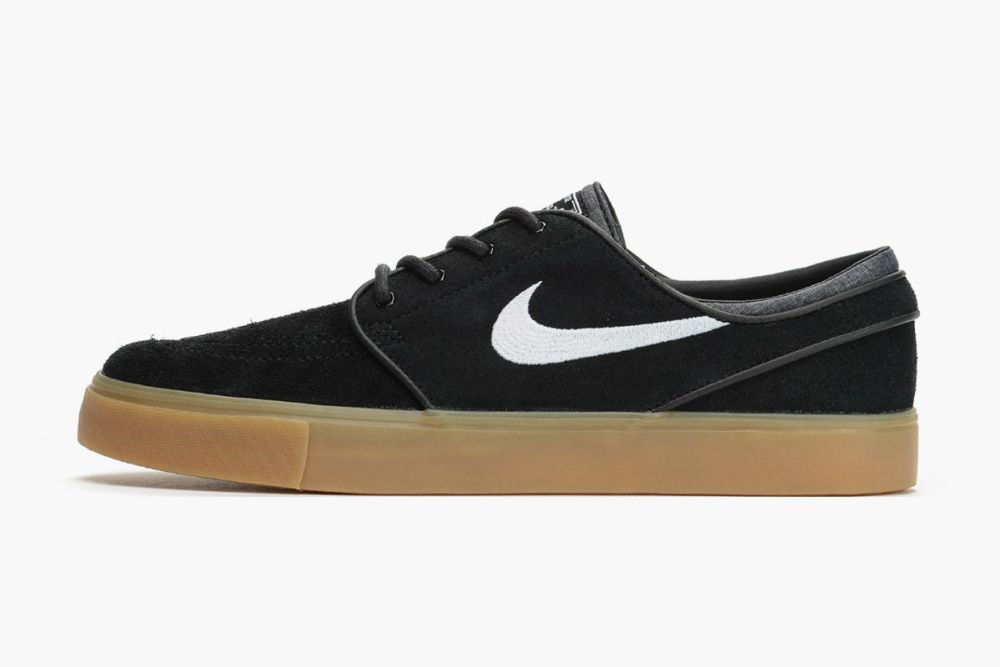 finest selection 1f6e4 2bf07 Nike SB Stefan Janoski Black and White Gum