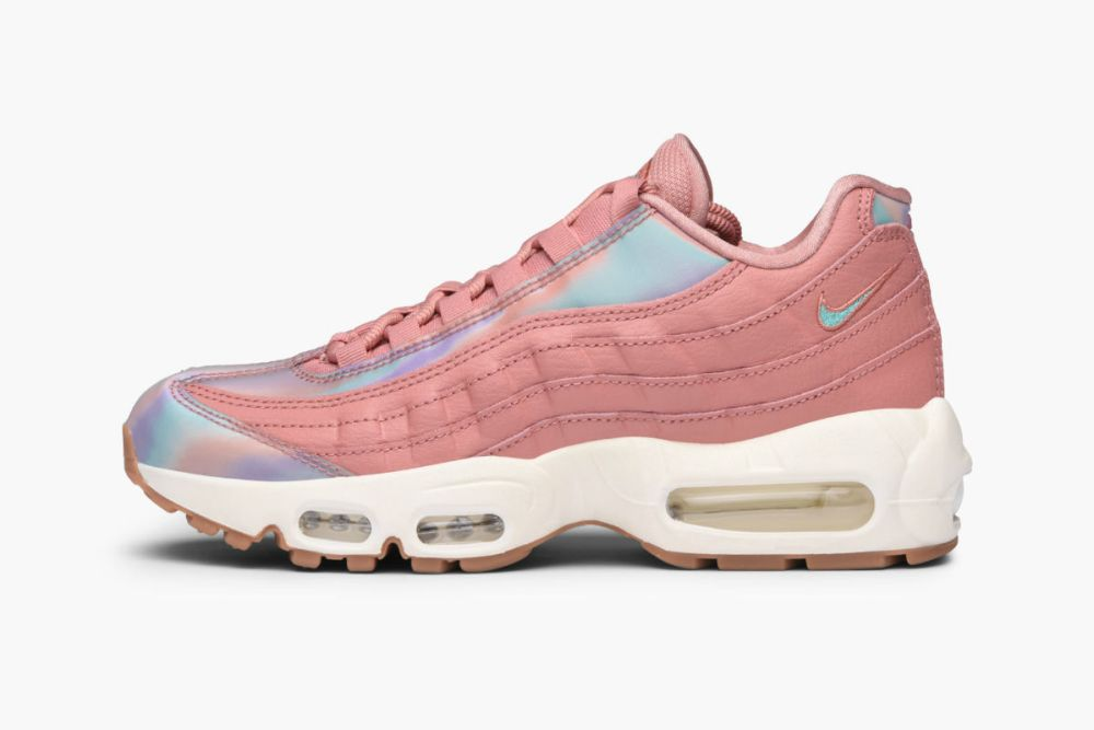 nike wmns air max 95 se red stardust washed teal sail 918413-600