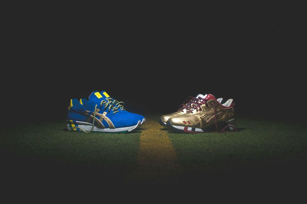 """Ronnie Fieg x Asics """"Kith Football Equipment"""" Pack"""